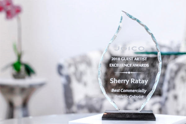 Joico 2018 Guest Artist Excellence Award - Sherry Ratay